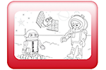PLAYMOBIL® Space Coloring Sheet